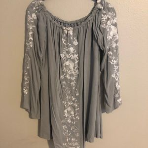Tobi Off-the-Shoulder Dress